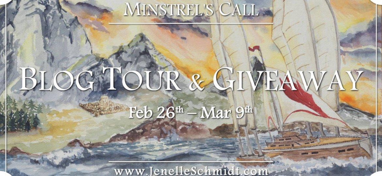 Minstrels Call BLOG TOUR BUTTON - banner